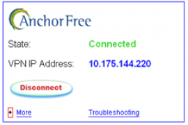 AnchorFree,免费VPN,非常好用
