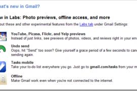 Gmail增加了撤销发送(Undo Send)功能