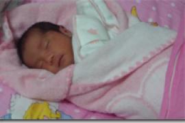 我家女儿出生了